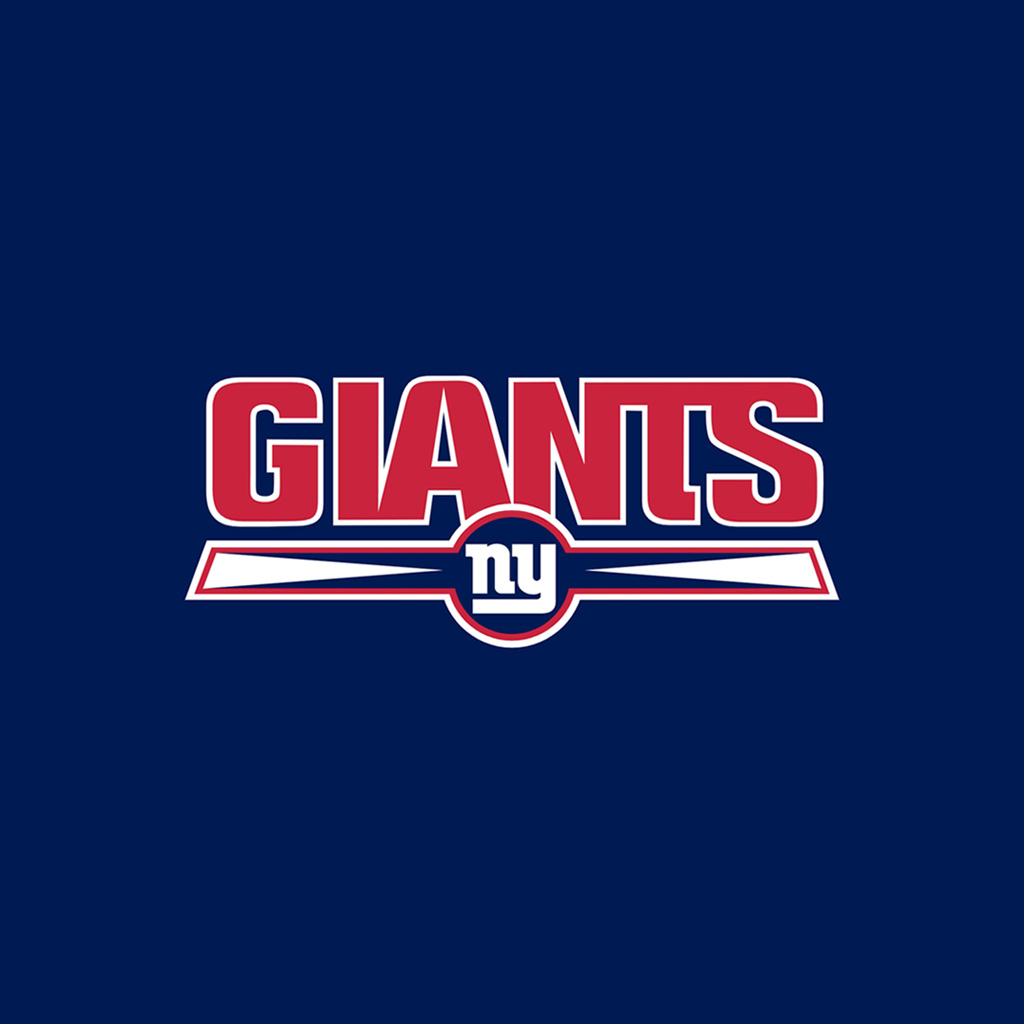 1024 X In New York Giants Team Logos IPad Wallpapers