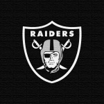 Oakland Raiders (burlap)