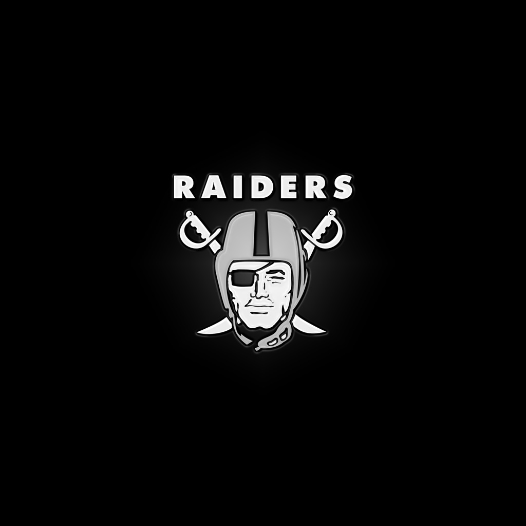 Ipad wallpapers with the oakland raiders team logos digital citizen voltagebd Choice Image