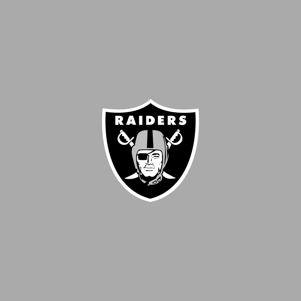 Free Oakland Raiders Wallpapers: IPad Wallpapers With The Oakland Raiders Team Logos