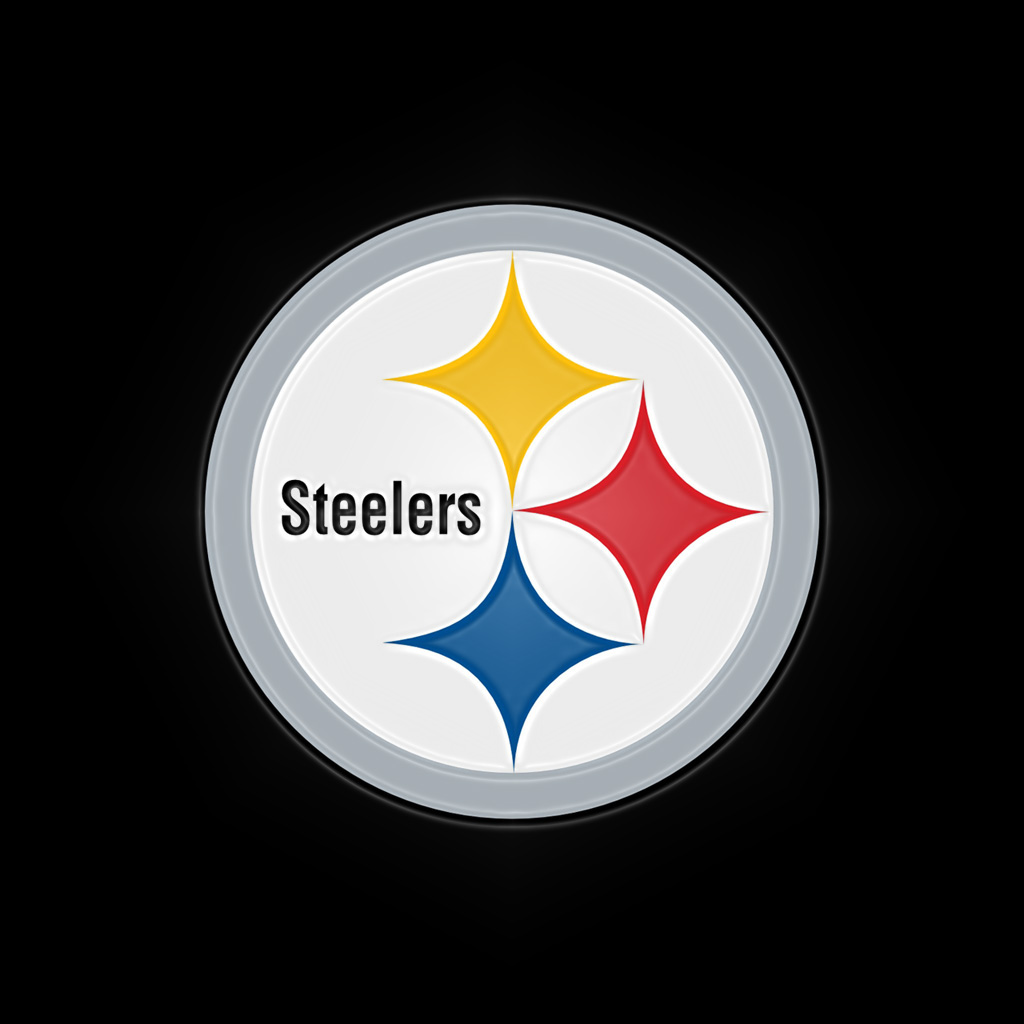 Inventive image within printable steelers logo