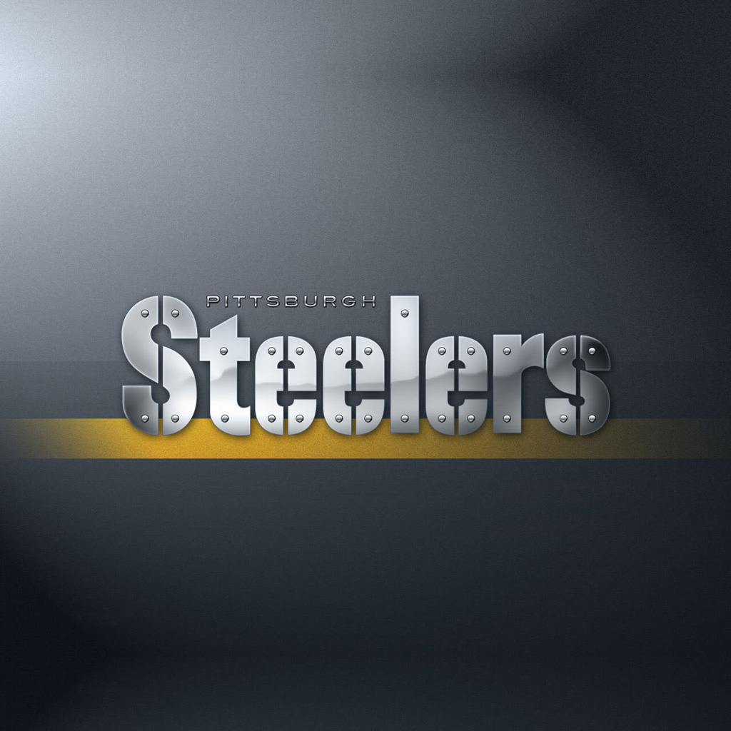 pittsburgh steelers wallpaper iPad 1024×1024