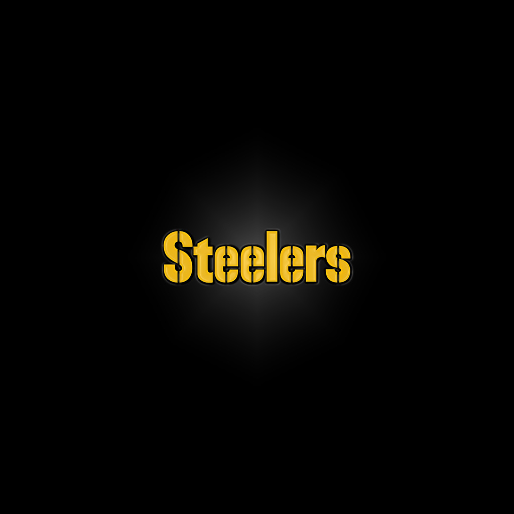 iPad Wallpapers with the Pittsburgh Steelers Team Logos