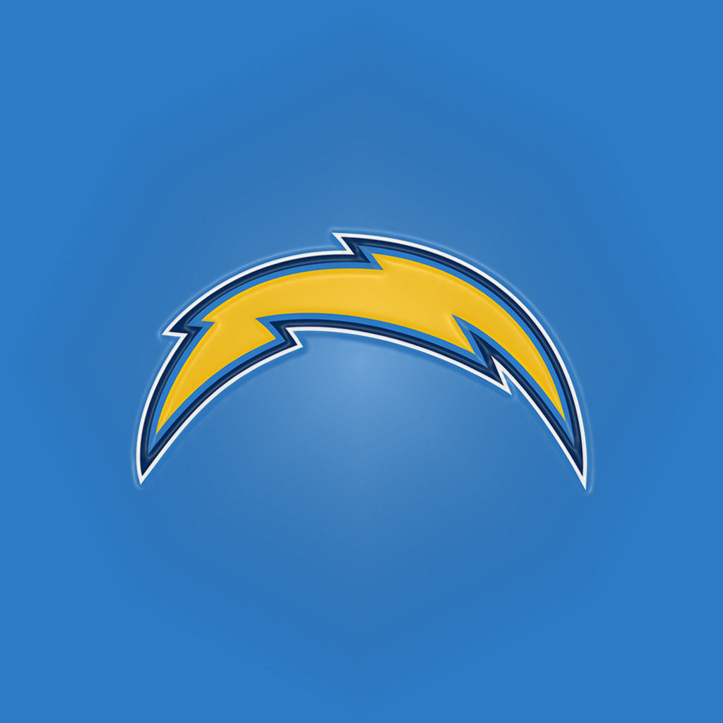 San Diego Chargers Light Bolt4 Ipad 1024emboss Digital