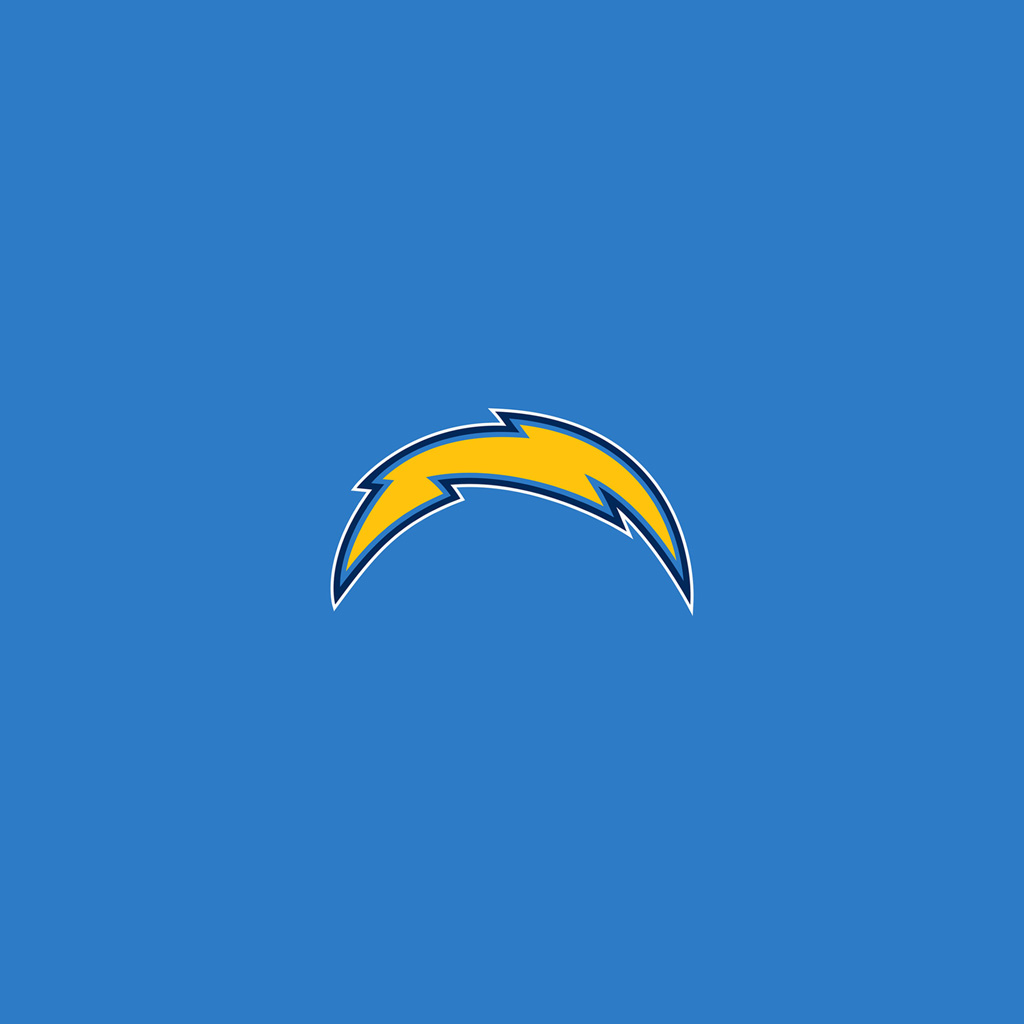 San Diego Chargers Light Bolt4 Ipad 1024small Digital
