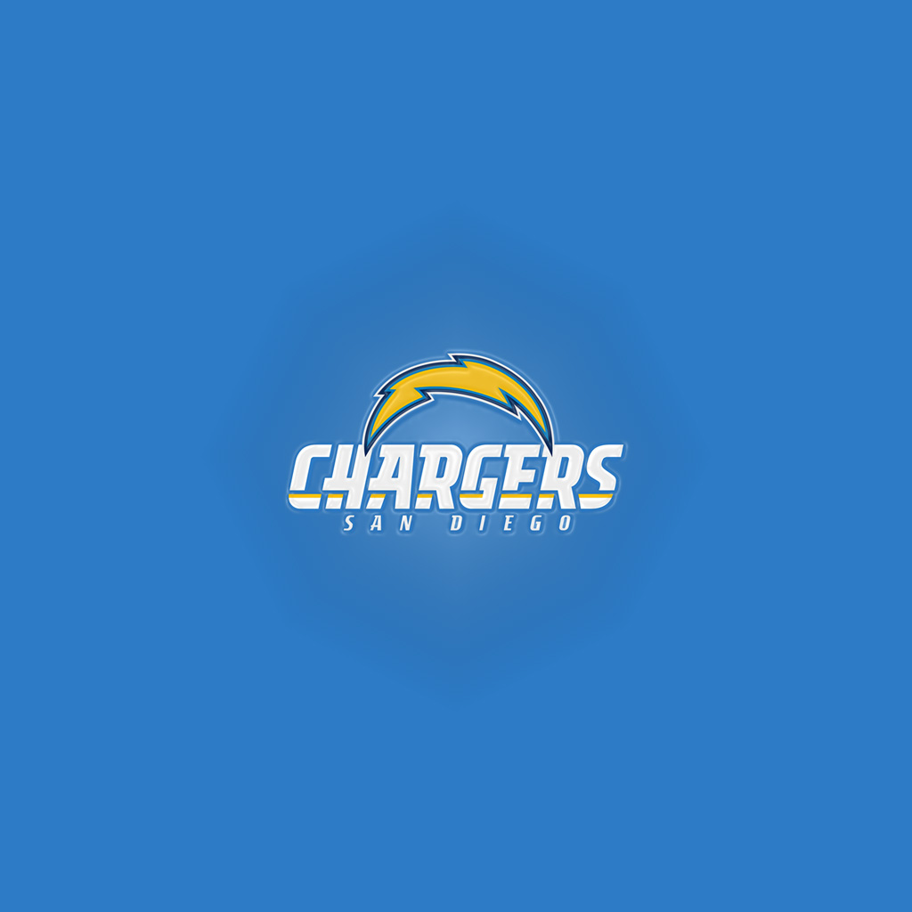 San Diego Chargers Email: San Diego Chargers Light IPad 1024Button