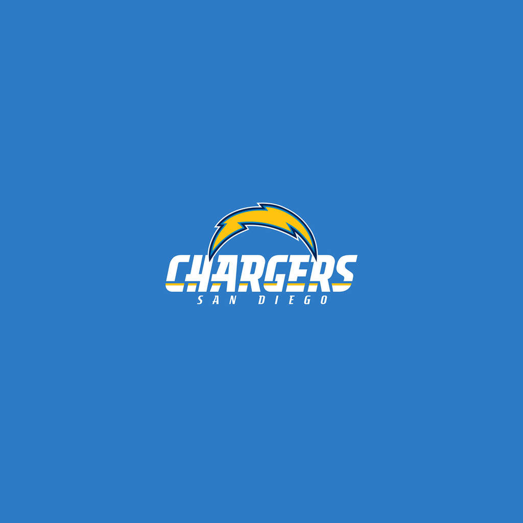San Diego Chargers Art: IPad Wallpapers With The San Diego Chargers Team Logos