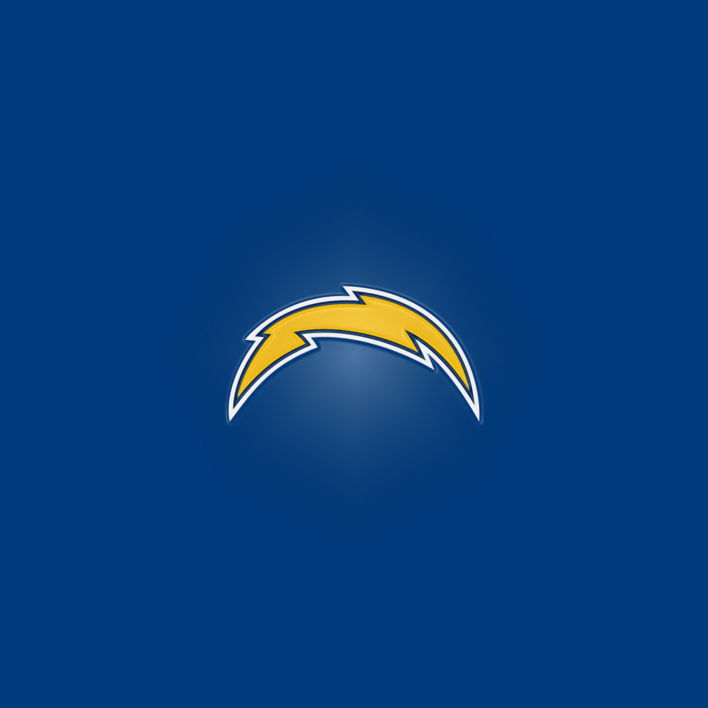 Ipad Wallpapers With The San Diego Chargers Team Logos