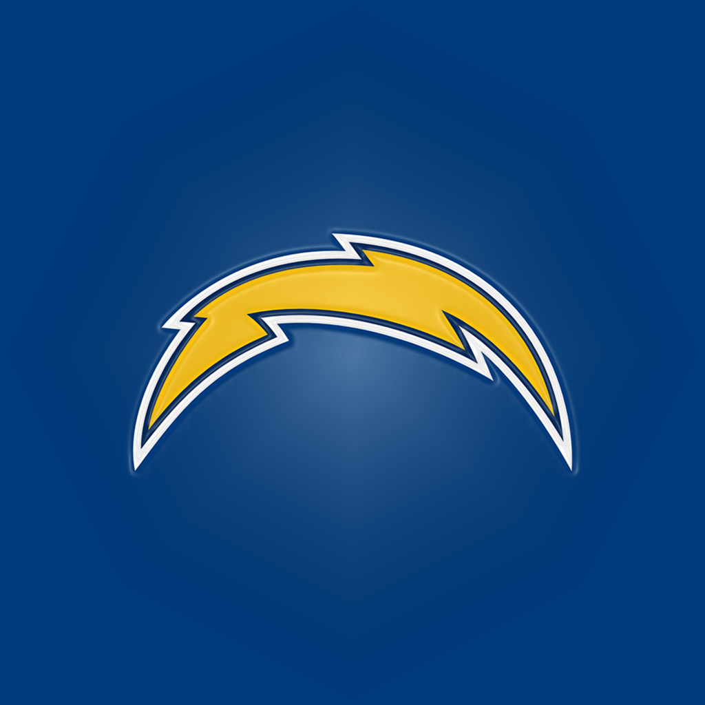 San Diego Chargers Backgrounds: San Diego Chargers3 IPad 1024Emboss