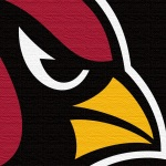 Arizona Cardinals (burlap)
