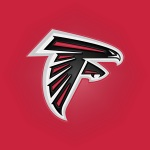 Atlanta Falcons (embossed)