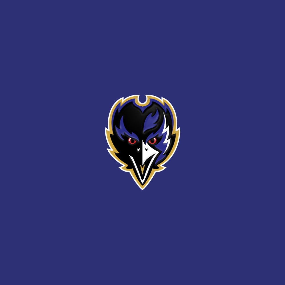 iPad Wallpapers with the Baltimore Ravens Team Logo (6/6)