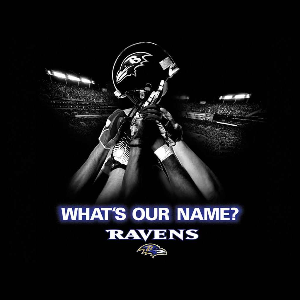 Ipad Wallpapers With The Baltimore Ravens Team Logo Digital Citizen