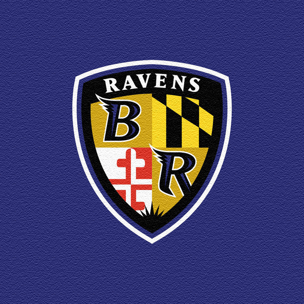 IPad Wallpapers With The Baltimore Ravens Team Logo