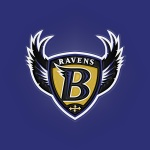 Baltimore Ravens (embossed)