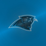 Carolina Panthers (embossed steel)