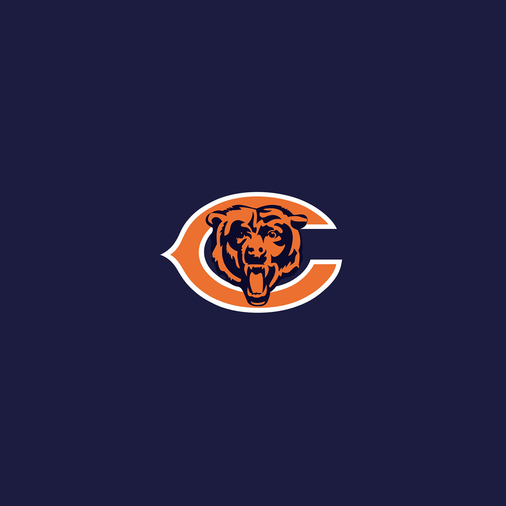 chicago bears team logos ipad wallpapers digital citizen Chicago Bears New Logo Chicago Bears Logo Printable
