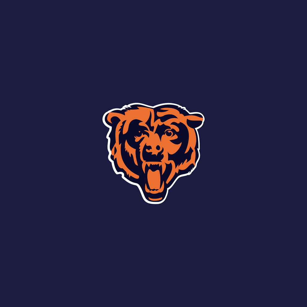 chicago bears team logos ipad wallpapers � digital citizen