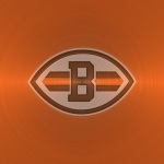 Cleveland Browns (embossed steel)