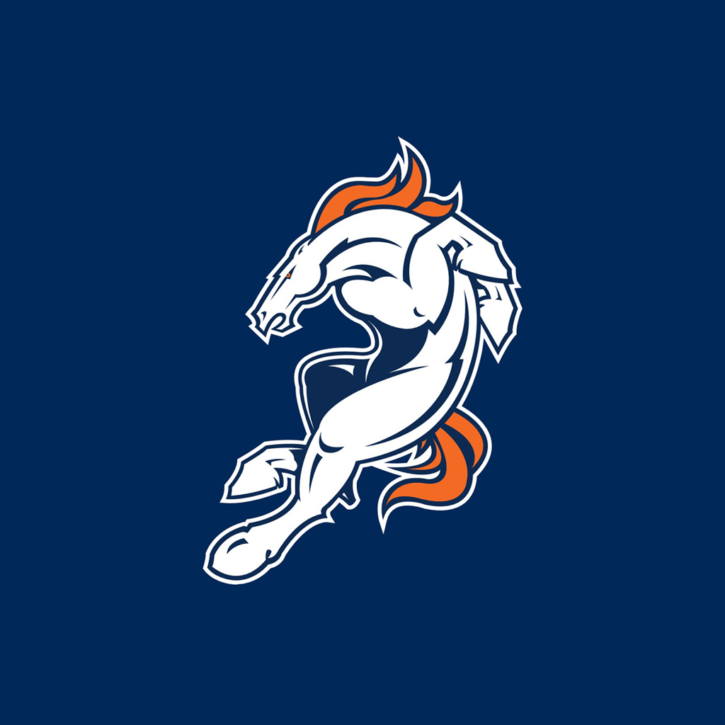 iPad Wallpapers with the Denver Broncos Team Logos ...