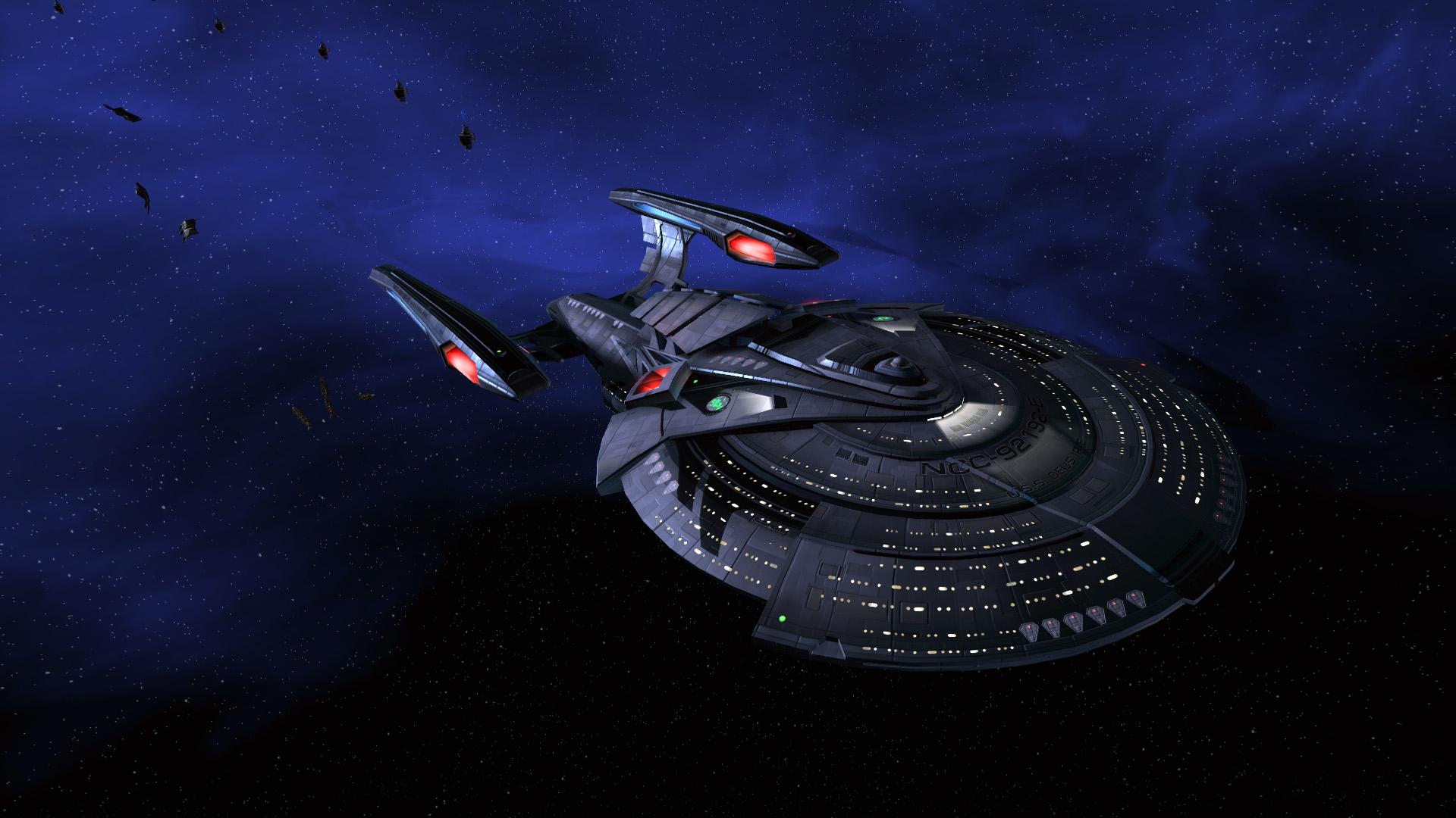 Star trek voyager spacecraft - Star Trek 1920 1080 Widescreen Wallpapers Tos Tng Ds9 Voyager