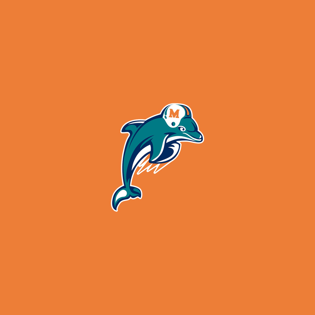 IPad Wallpapers With The Miami Dolphins Team Logos Digital Citizen