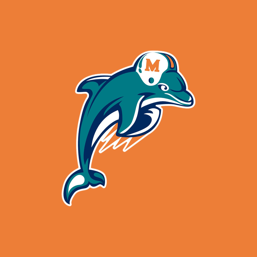 Ipad wallpapers with the miami dolphins team logos digital citizen voltagebd Gallery