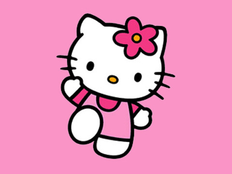 Hello Kitty. Share this!