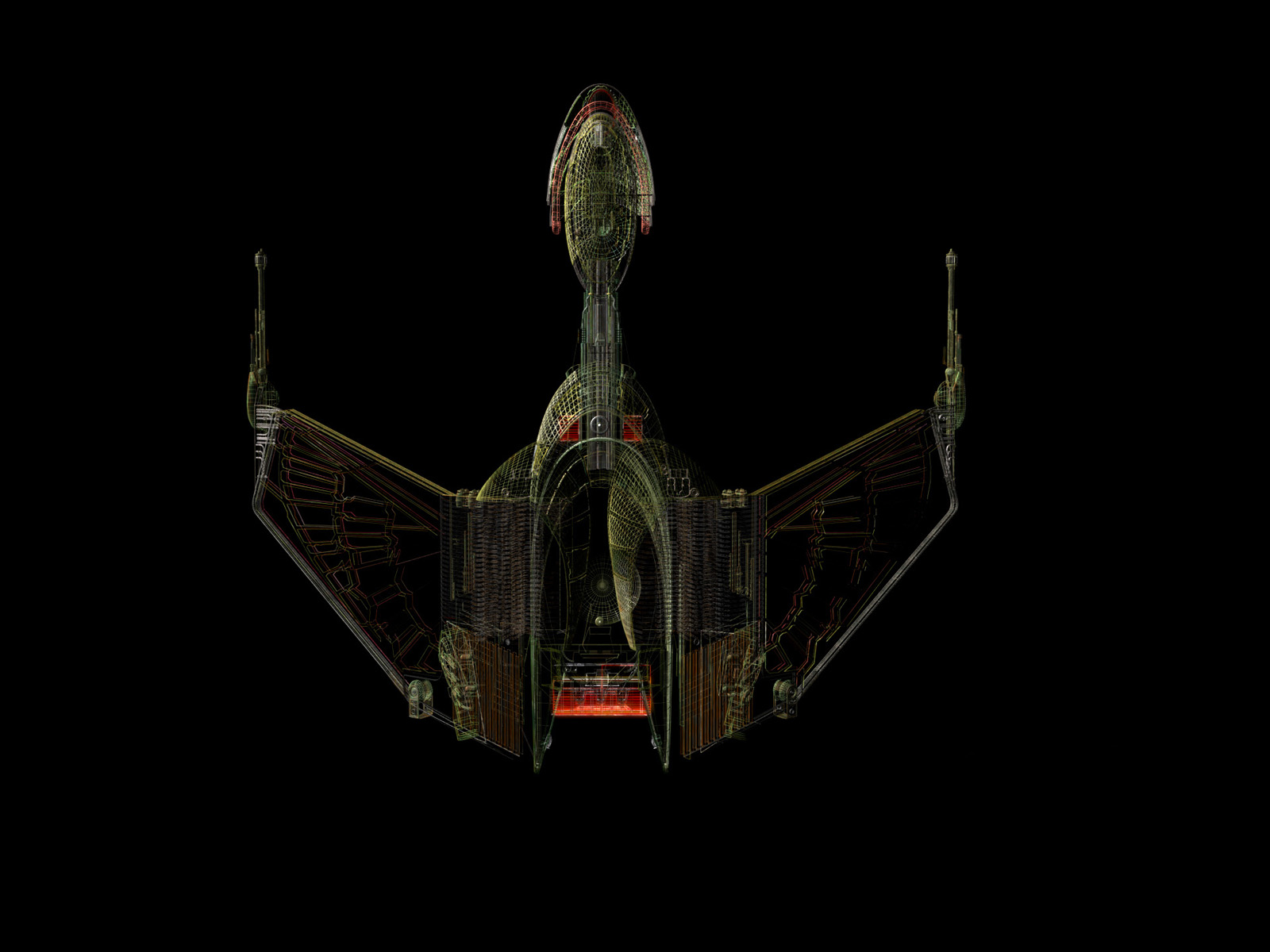 Klingon Bird Of Prey Wire 1600 1200 Digital Citizen