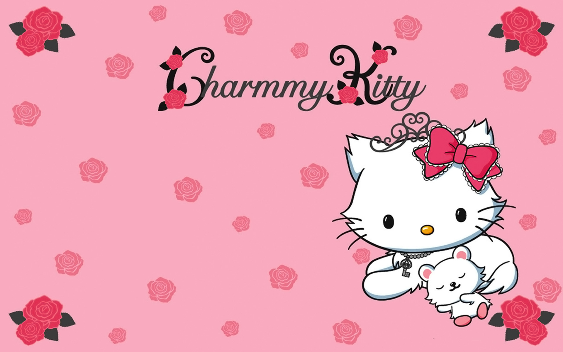 Top Wallpaper Hello Kitty Facebook - charmmy-kitty-roses-1920x1200  Pic_37869.jpg