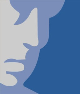 facebook face logo