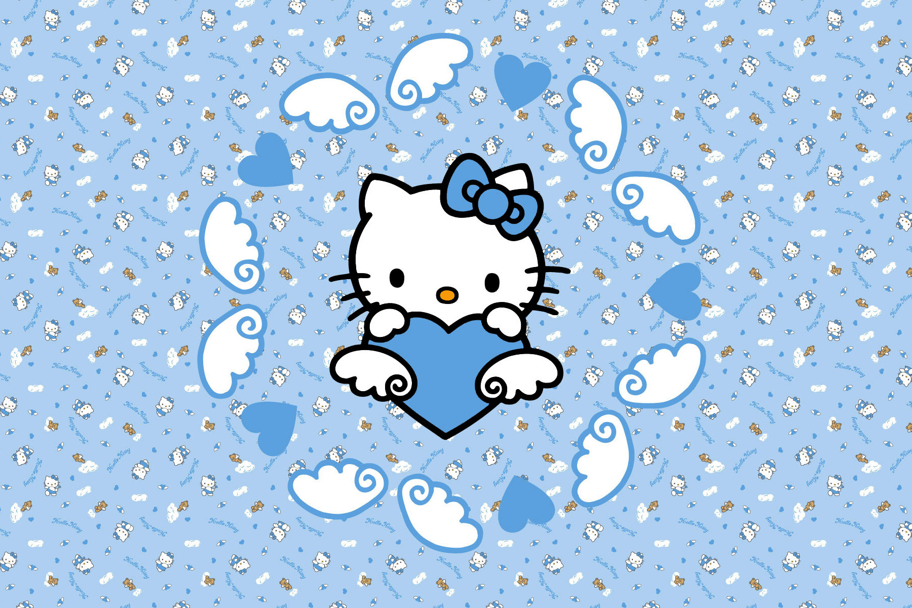 Hello Kitty Blue Heart 6 4 Digital Citizen