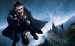 harry potter flying broom