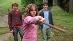hermione granger ron weasley harry potter hp3 wand 2560x1440
