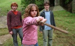 hermione granger ron weasley harry potter hp3 wand 2560x1600