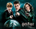 ron weasley harry potter hermione granger hp6 dvd 1280x1024