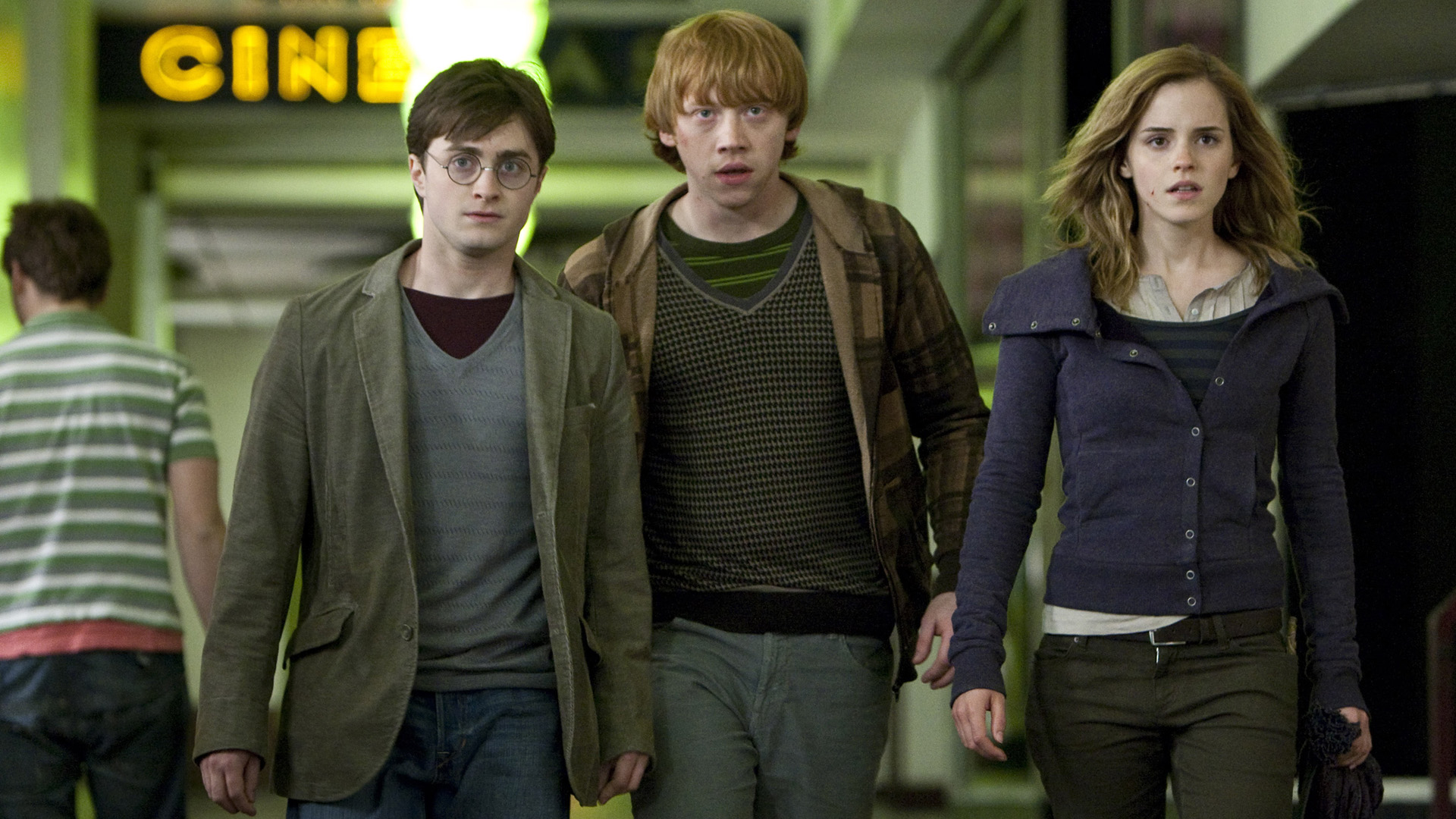 Harry Potter Ron Weasley And Hermione Granger wallpaper ...