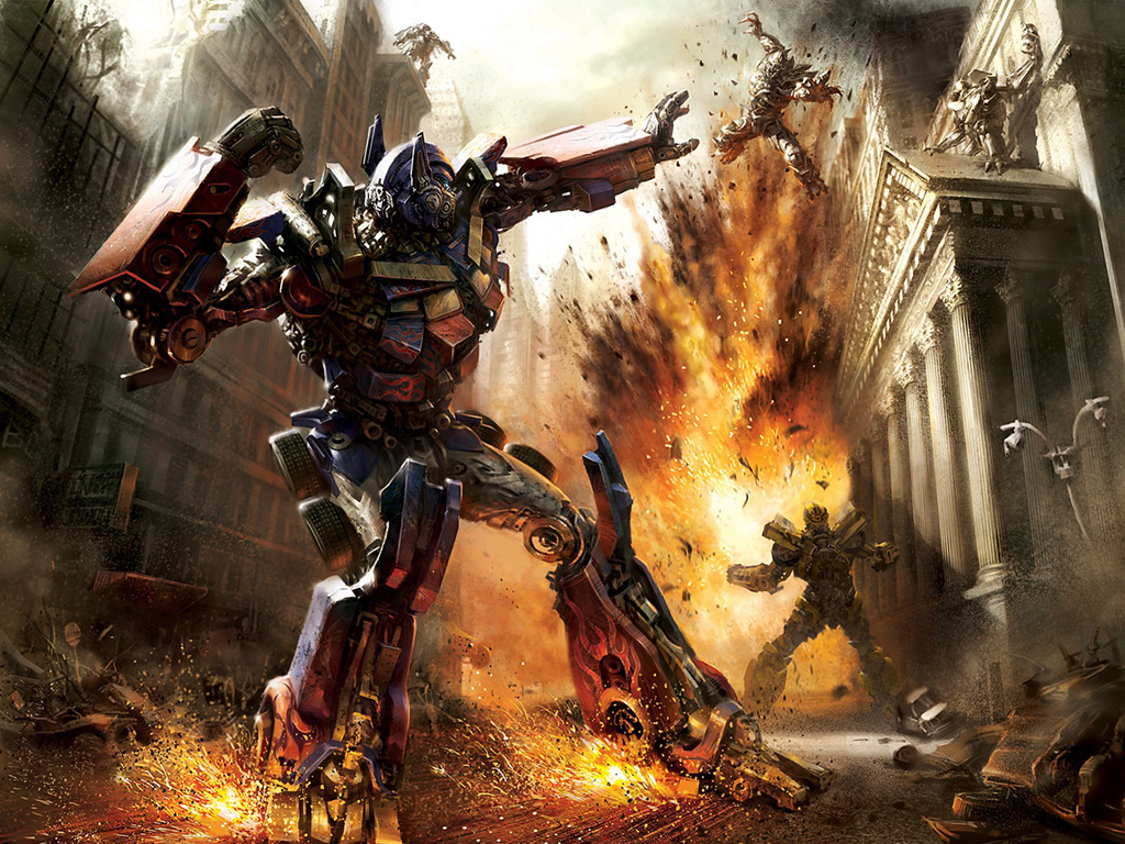 Transformers 3 Dark Of The Moon Wallpapers 1024 215 768
