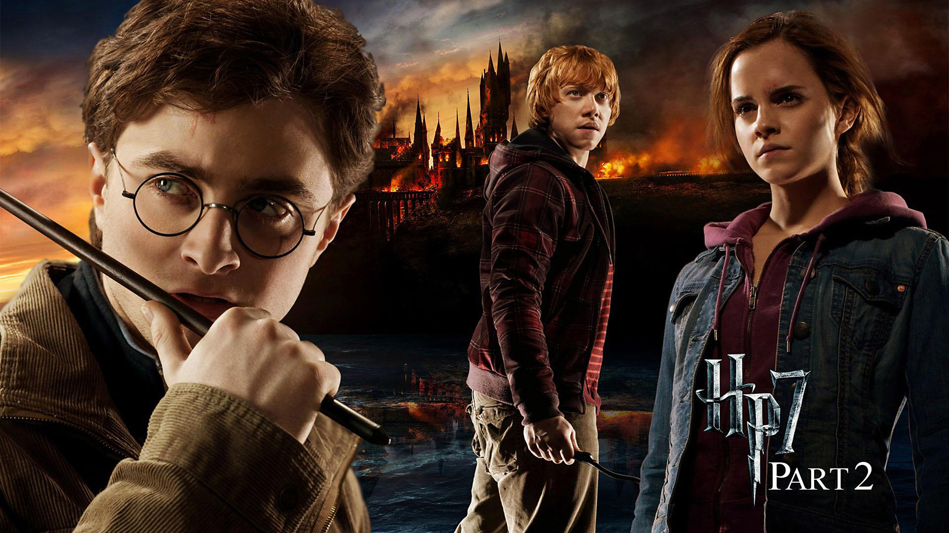 Harry Potter 7, the Deathly Hallows Part 2 Widescreen ...  Harry Potter 7,...