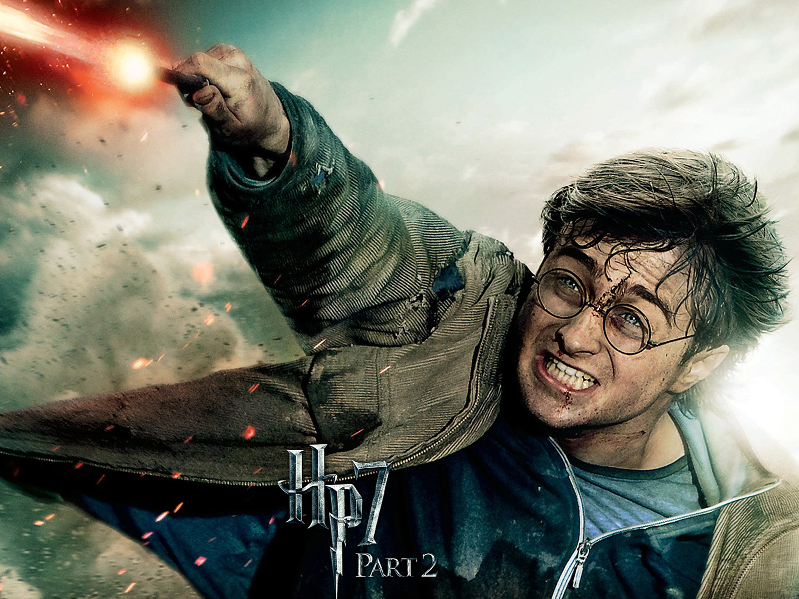 Harry potter 7 the deathly hallows part 2 widescreen for Harry potter and the deathly hallows wand