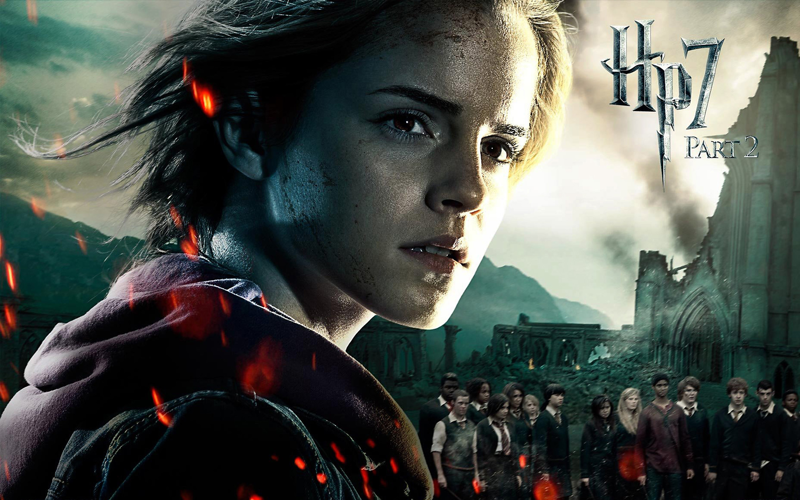 Harry Potter, the Deathly Hallows, Part 2 Widescreen ...  Harry Potter, t...