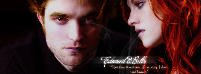 bella swan edward cullen red Facebook Timeline Cover