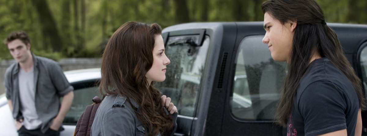 bella swan jacob black parking lot