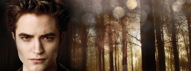 edward cullen shiny spots woods Facebook Timeline Cover