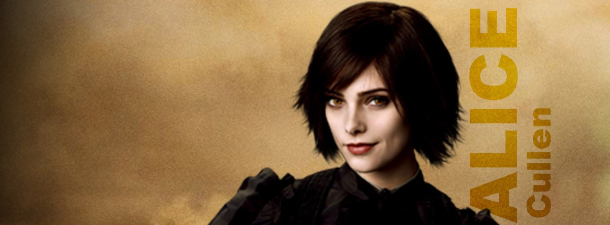 New Moon poster Alice Cullen Facebook Timeline Cover