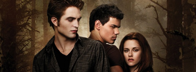 New Moon Poster Bella Edward Jacob close Facebook Timeline Cover