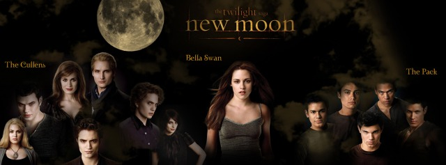 new moon poster cast groups Facebook Timeline Cover
