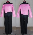 Modeled Pride TNG uniform