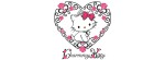 charmmy kitty heart Facebook Timeline Cover Photo