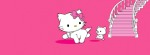 charmmy kitty stairs Facebook Timeline Cover Photo